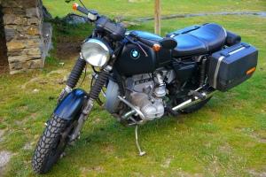Kolben motorcycles R100 historia bmw