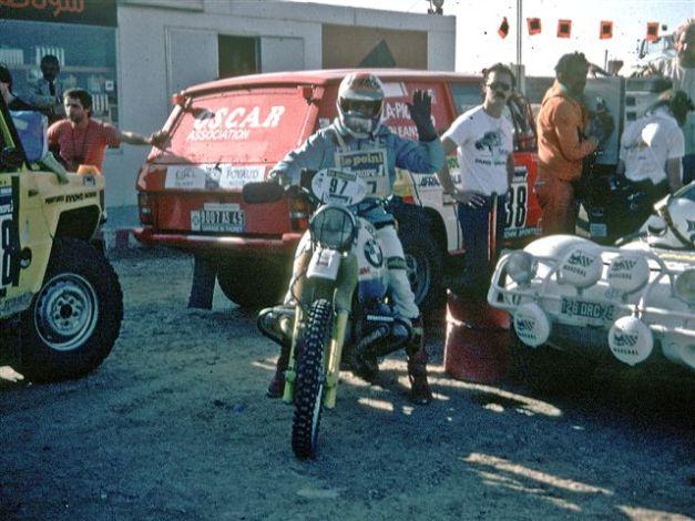 KOLBEN MOTORCYCLES DAKAR 1983-4
